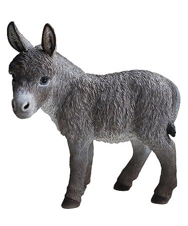Hi Line Gift Ltd Donkey Garden Statue, 20u0026quot;