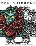 zen drawing book - Zen Chickens: Meditative Coloring Book