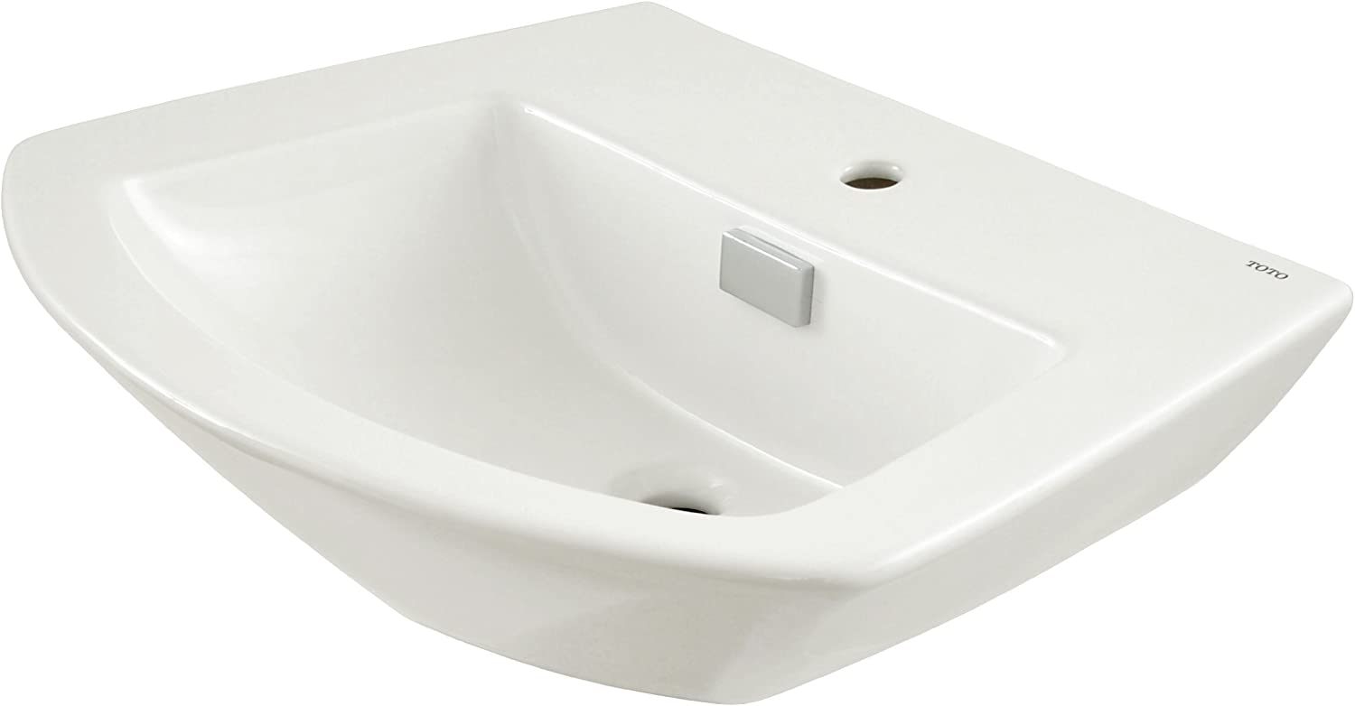 TOTO Lt962 01 Soiree 24 Lavatory Single, Cotton White