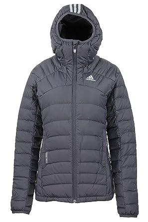 adidas Damen Jacke Terrex Korum Daunenjacke Winterjacke Performance grau
