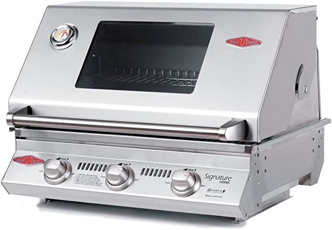 Amazon.com: Beefeater 12830s 3-burner integrado parrilla ...