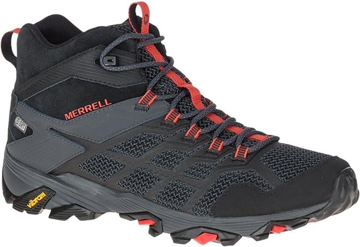merrell moab fst 2 mid waterproof boot - mens ltd