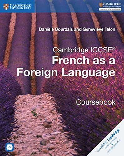 Cambridge IGCSE® and O Level French as a Foreign Language Coursebook with Audio CDs (2) (Cambridge International IGCSE) (French Edition) by Cambridge University Press