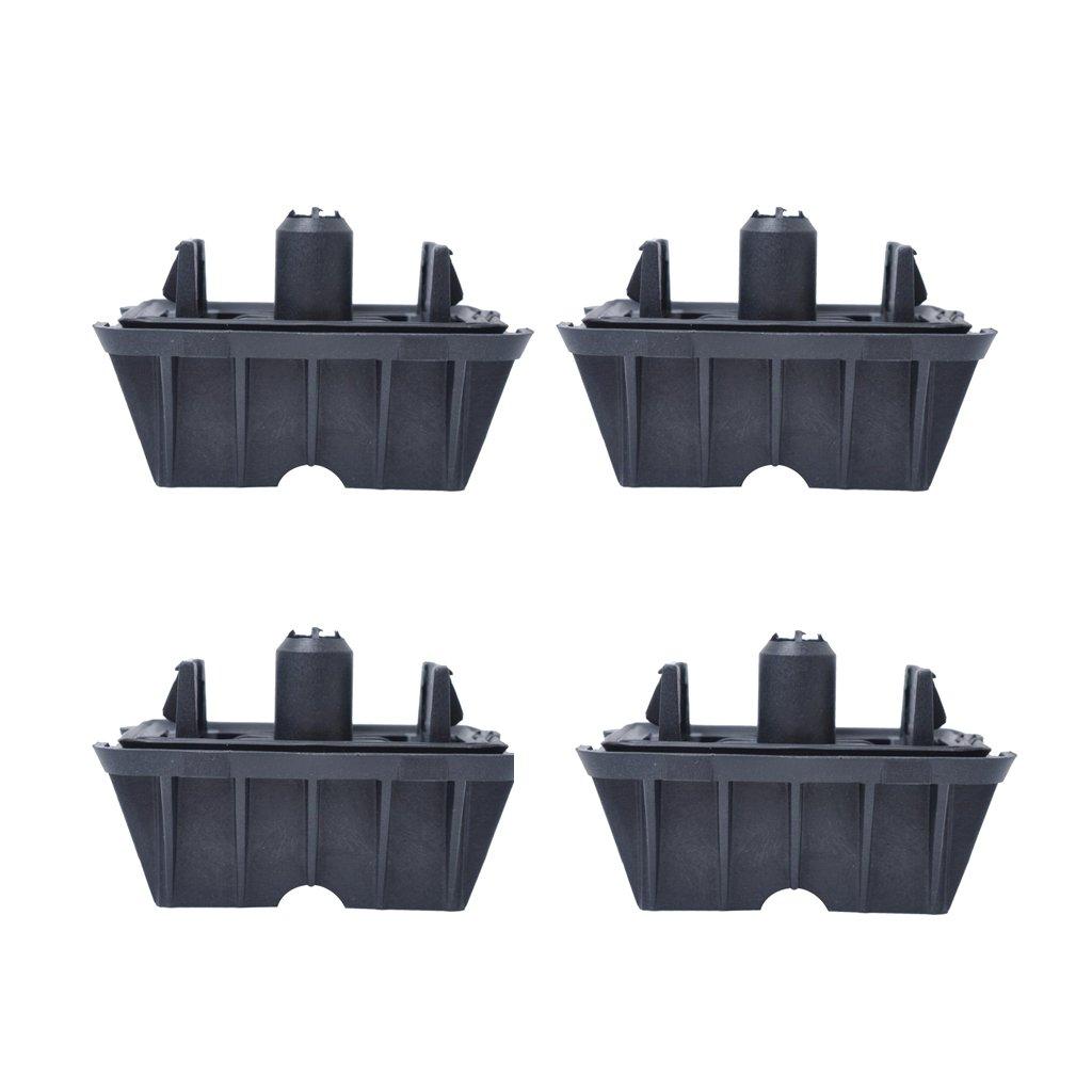 Non-brand 4pcs Parte Del Coche Jack Pad Jacking Punto De Apoyo Para BMW E82 E90 E91 F10 51717237195 Reemplazo Directo