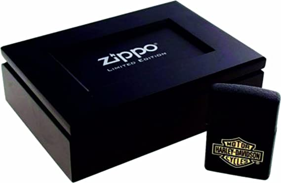 Zippo 2.002.663 Crackle - Mechero (edición Limitada), diseño de Logotipo de Harley-Davidson, Color Negro: Amazon.es: Hogar