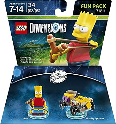 LEGO Dimensions, Simpsons Bart Fun Pack (Dazzle For Xbox)