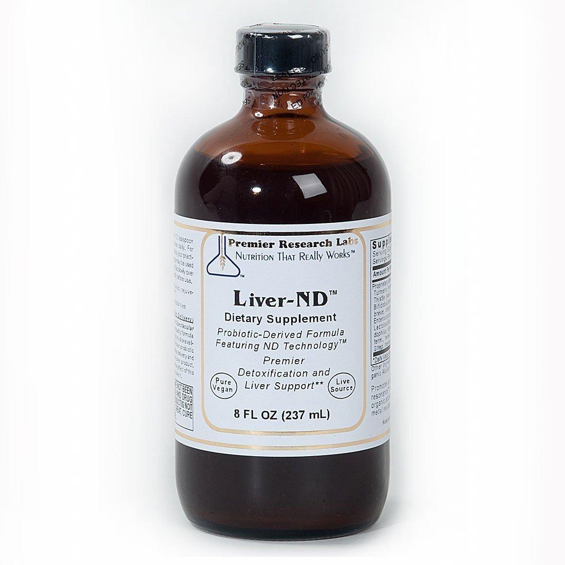 Premier Research Labs Liver ND 16 Oz / 2 Bottles Detox Support