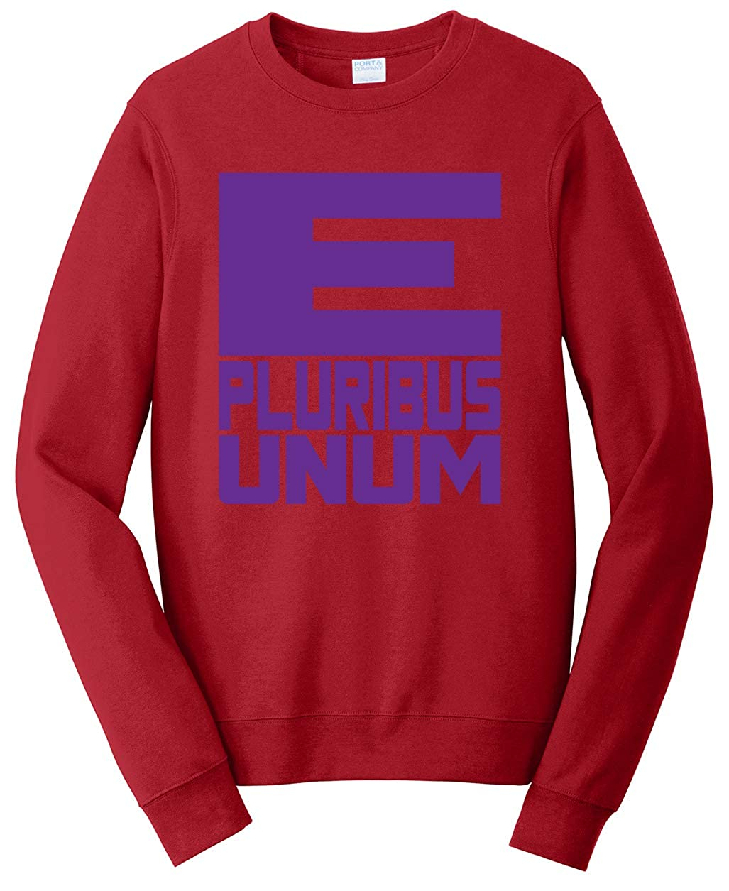 Tenacitee Unisex E Pluribus Unum Sweatshirt