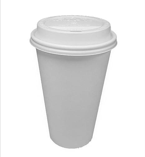 amazon com 100 sets 20 oz paper coffee cup solo disposable white