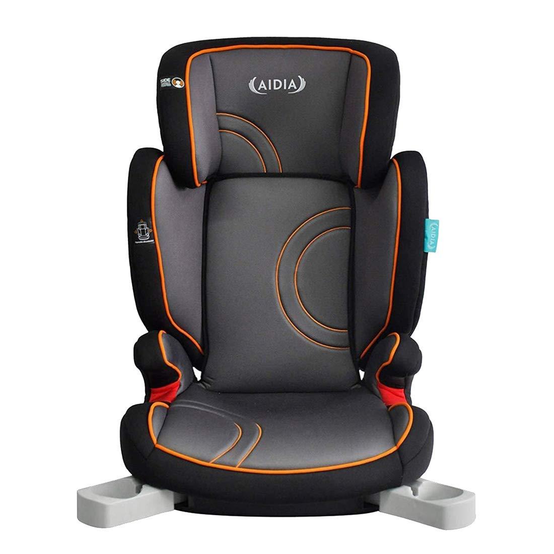 Aidia Pathfinder High Back Safety Booster Car Seat, Grey/Black AD03-B/Saturn