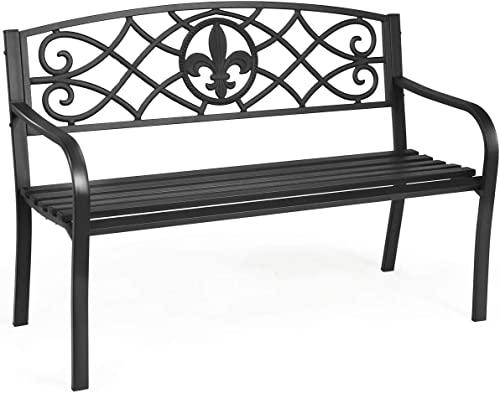 Giantex 50inch Patio Garden Bench