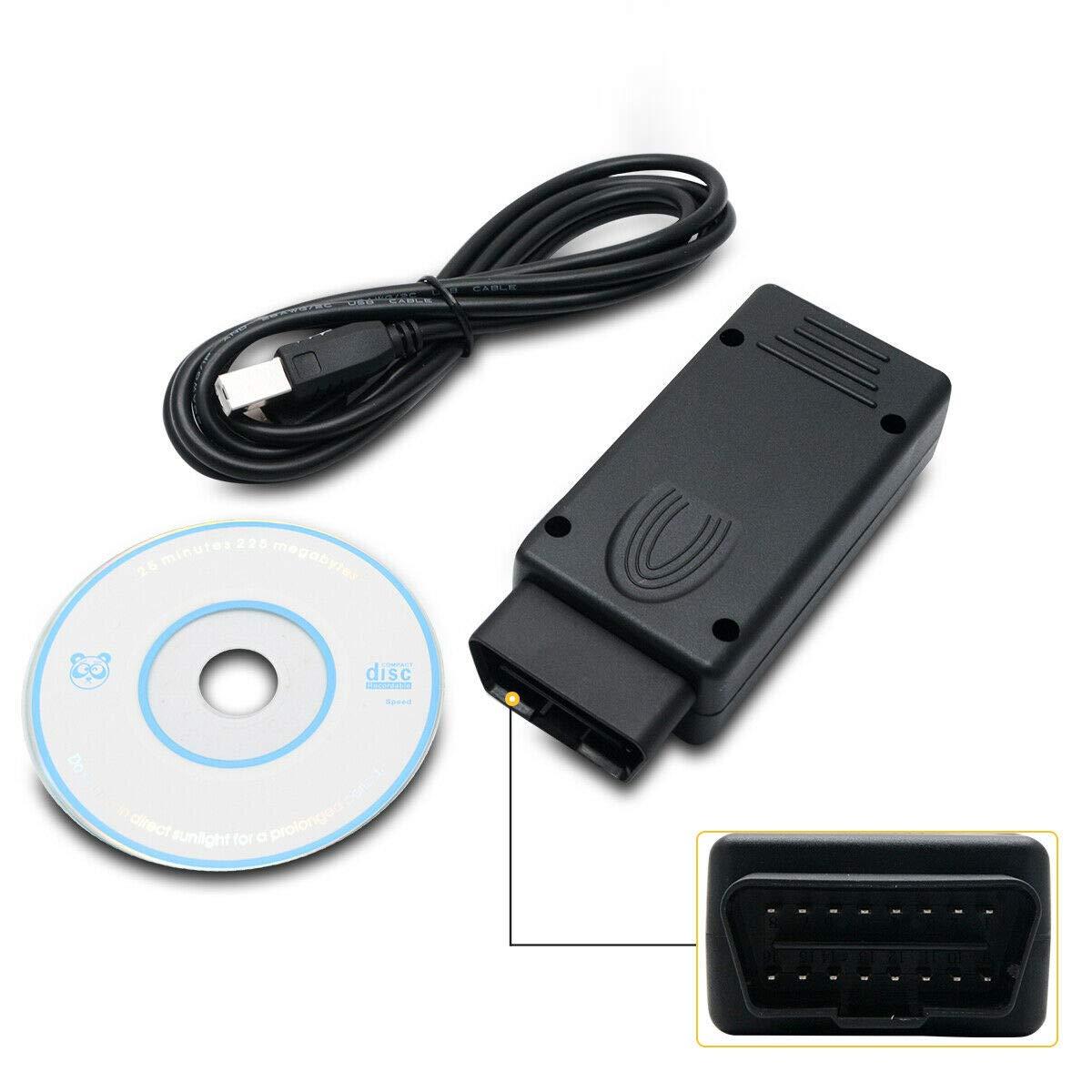 Edc16/Edc17/inkl lecteurs de code et outils de num/érisation Puce de voiture Tuning, Maso MPPS v16/OBD2/OBDII ECU Chip Tuning pour clignotant Remapping Outil pour