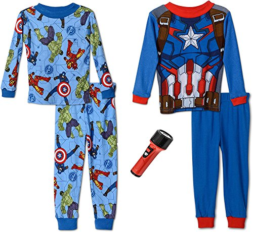 Avengers Boys Heroes Four Piece Pajama product image