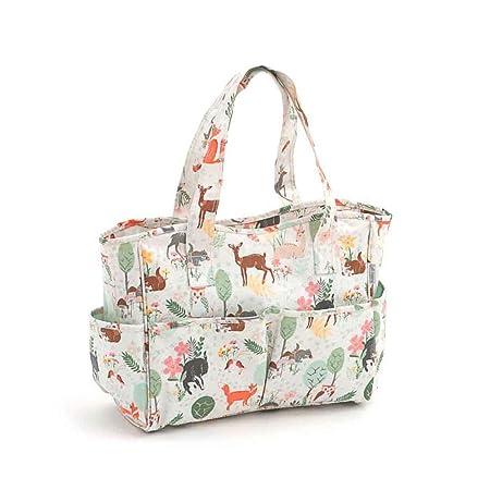 1ca4fd1ff92 Craft Bag - Matt PVC - Woodland   Hobby Gift MRB 285   12½x39x35cm   Amazon.co.uk  Kitchen   Home