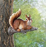 Squirrels Garden Decor Charming Lounging Squirrel Tree Decor For Sale