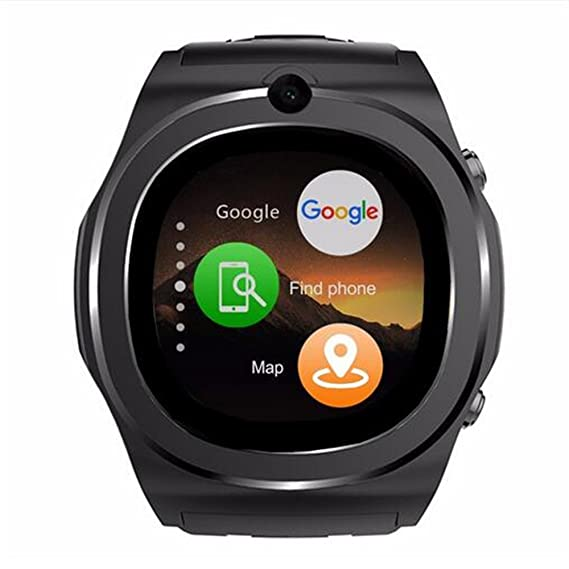 New 3G WCDMA Q98 Smart watch 1.54 IPS Screen 1.3GHz CPU Android 5.1 MTk6580 RAM