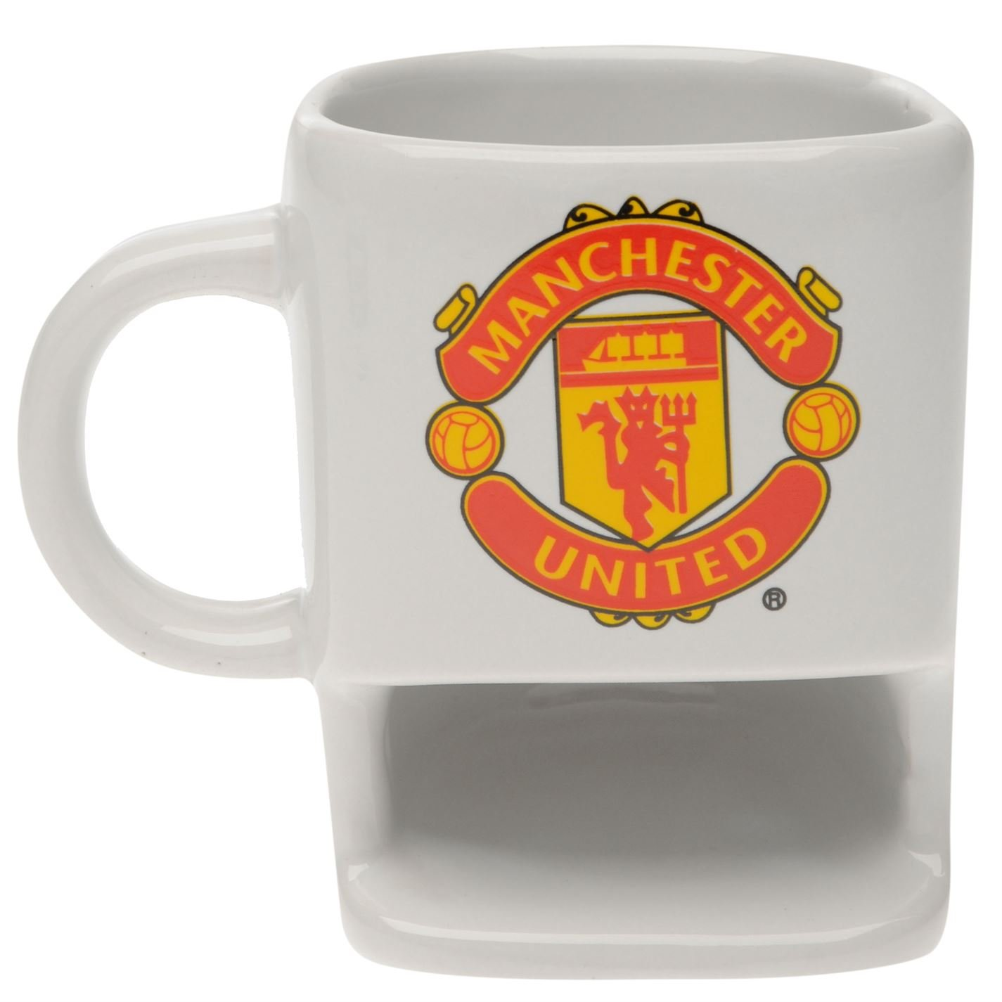 Club Crest Mug And Coaster Set Manchester United Football Club