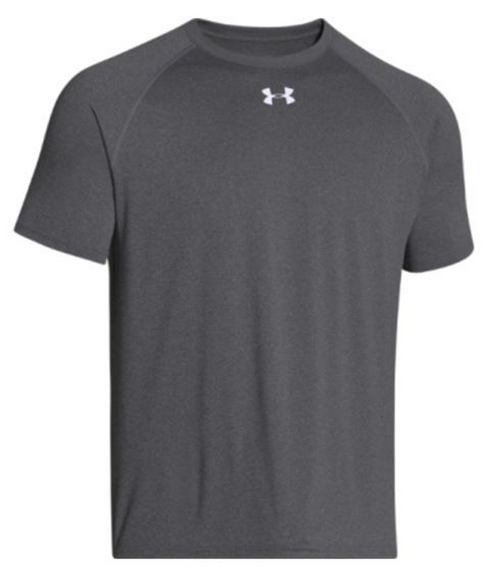 Under Armour Men's Locker Shortsleeve T-Shirt (Carbon Heather, Medium)