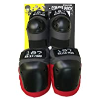 187 Killer Pads Knee & Elbow Pad Combo PacK