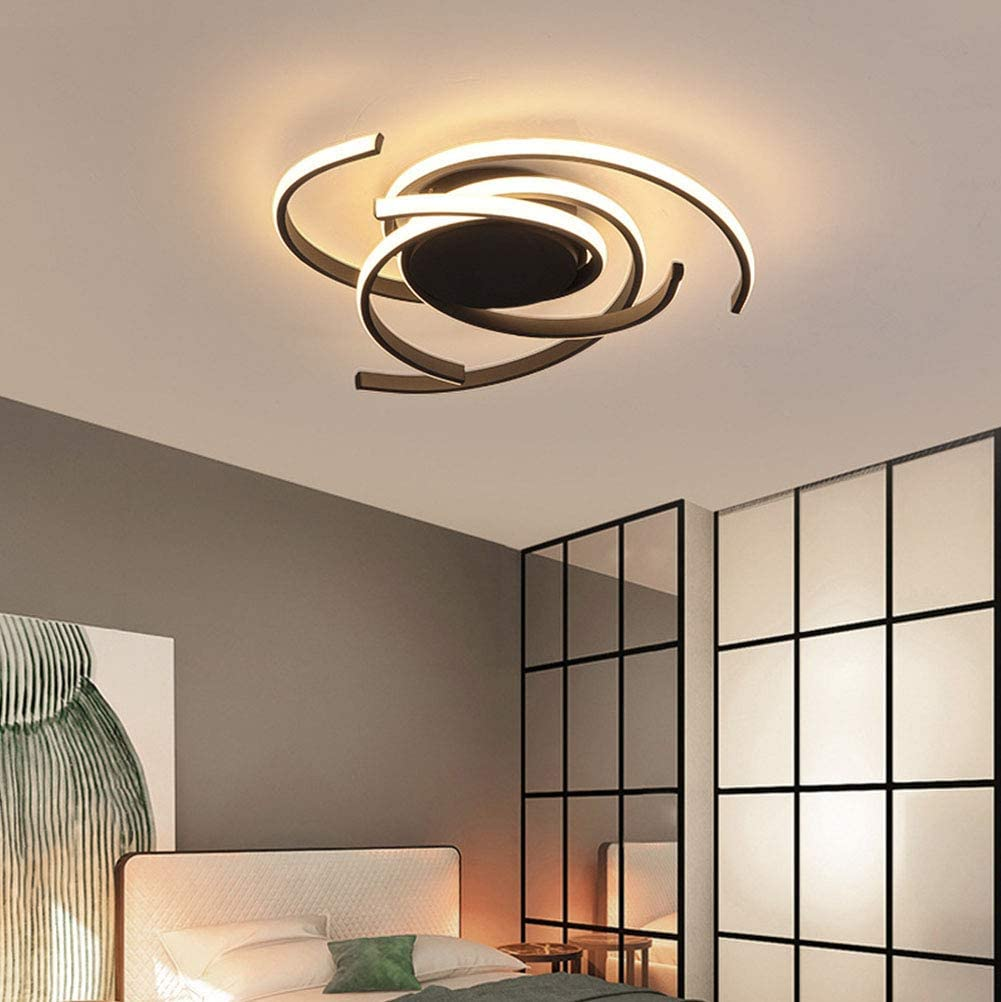 Modern Ceiling Lamp Bedroom Light Dining Room Lighting Fixtures 9W LED  Flush Mount Dimmable Ceiling Remote Control Kitchen Island Decor Hanging  Lamp