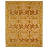 Cheap Safavieh Anatolia Collection AN541B Handmade Traditional Oriental Beige and Gold Wool Area Rug (9′ x 12′)