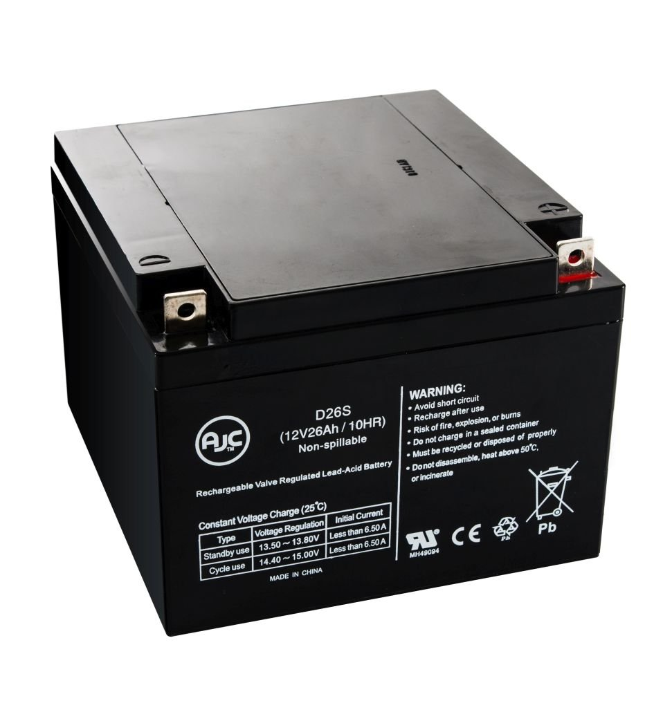 Ferno-ILLE 197 Lift Chair 12V 26Ah Medical Battery - This is an AJC Brand Replacement