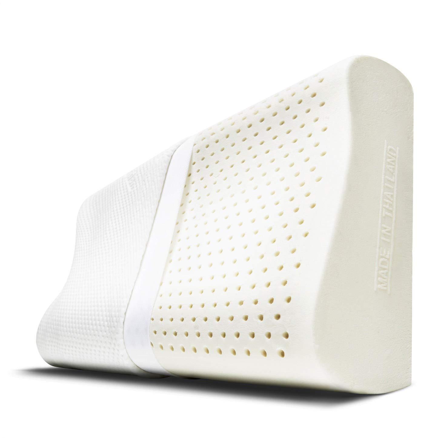 Kannika Revolutionary Latex Pillow for Back Sleepers