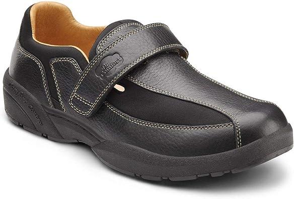 Dr Comfort Douglas Mens Casual Shoe Chestnut Size 13