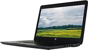 HP ZBook 14 G2 14in Laptop, Core i5-5200U 2.2GHz, 8GB Ram, 500GB, 1600x900, Bluetooth, Windows 10 Pro 64bit, Backlit Keyboard, Webcam (Renewed)