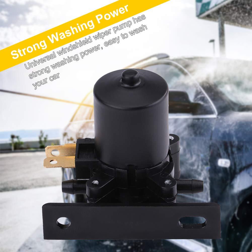 Bomba de la lavadora del parabrisas del coche, bomba del líquido del agua SI-A0050 universal 12V para camión/auto/bús/van/coche: Amazon.es: Coche y moto