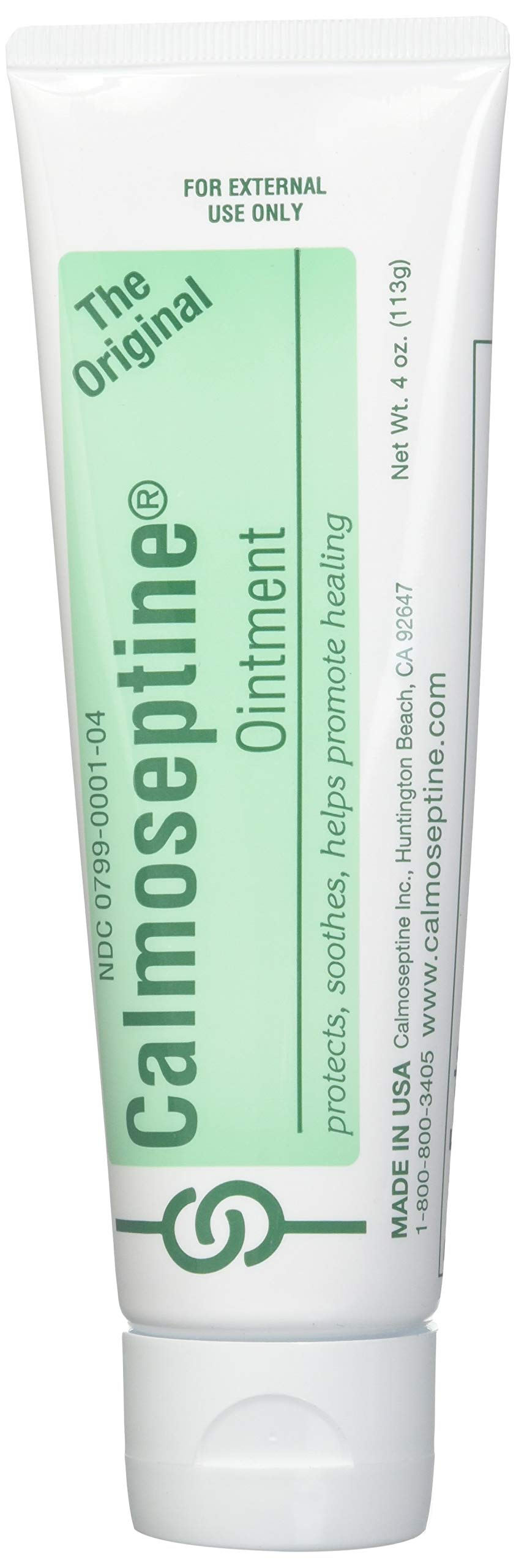Calmoseptine Ointment 4 oz (Pack of 8) by Calmoseptine