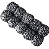 WellieSTR 10 spool(Black White)1.5MM Cotton Baker Twine DIY Crafts and Gift Wrapping Wedding decoration DIY Baker Twine Favor Gift Wrap Twist Packaging String Balloon Cord Party - 109yards per spool