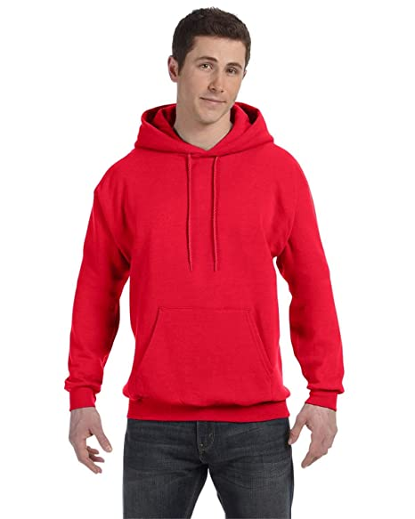 9c3e4c9a Hanes Mens EcoSmart Hooded Sweatshirt (P170) at Amazon Men's ...