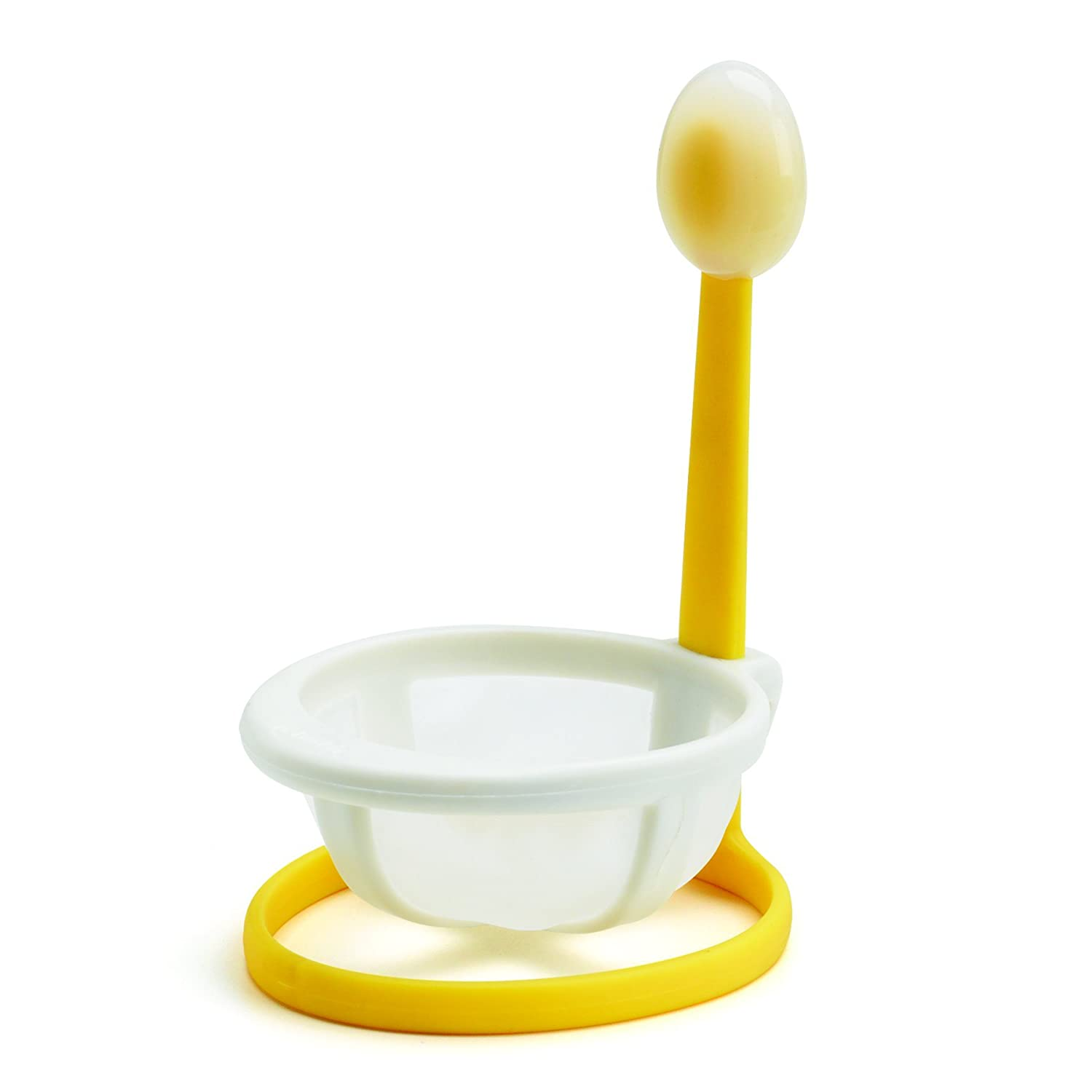 Chef'n 9.5 x 8.0 x 15.0 cm Yolkster Egg Poacher, Yellow/White Chef'n 102-517-174