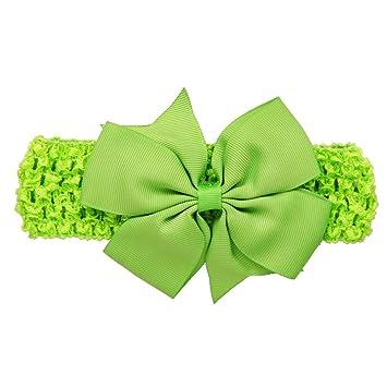 Diademas Bebé, ❤️Amlaiworld Diademas para niñas Accesorios para el cabello bowknot para niñas infantil Banda para el cabello (Menta verde): Amazon.es: ...