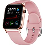 """Smart Watch for Android and iOS Phone with 1.4"""" Touch Screen, Activity Fitness Tracker Heart Rate Sleep Monitor,IP68…"""