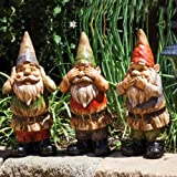 Kindred Gnomes Wise Statue (Set of 3)