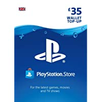 PlayStation PSN Card 35 GBP Wallet Top Up | PSN Download Code - UK account