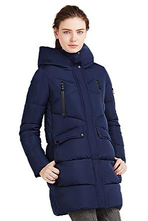 huge discount d26f4 ed50a ICEbear Cappotto Donna Invernali,Giacca Inverno Donna Lungo Piumino Donna  Inverno Incappucciato Abbigliamento