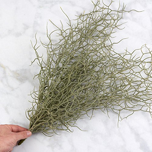 Flocked Faux Grass Bush | for Indoor Decor