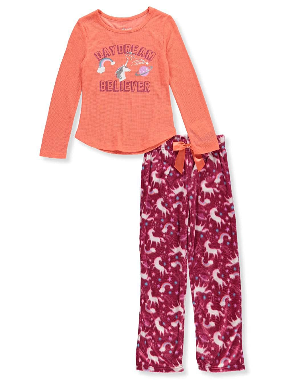Sleep On It Girls 2-Piece Pajamas