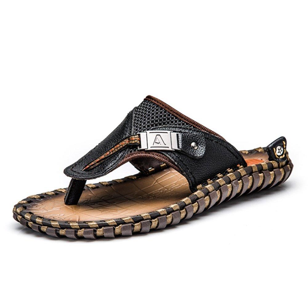 Sandalias ortopédicas para hombre con gran soporte de arco elegante para playa, 48 48