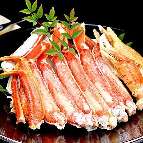 天空海闊 ズワイガニ カット済み 脚肉 ハーフポーション 本 ずわい蟹 最高級 大型バルダイ種 1パック
