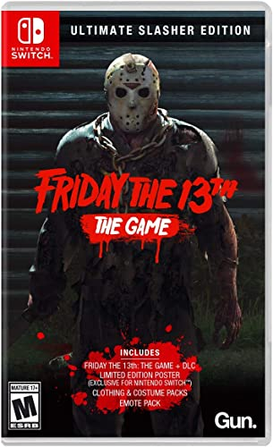 Friday the 13th: The Game Ultimate Slasher Edition: Amazon.com.br ...