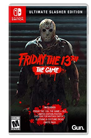 Amazon Com Friday The 13th Game Ultimate Slasher Edition Nintendo Switch Ui Entertainment Video Games