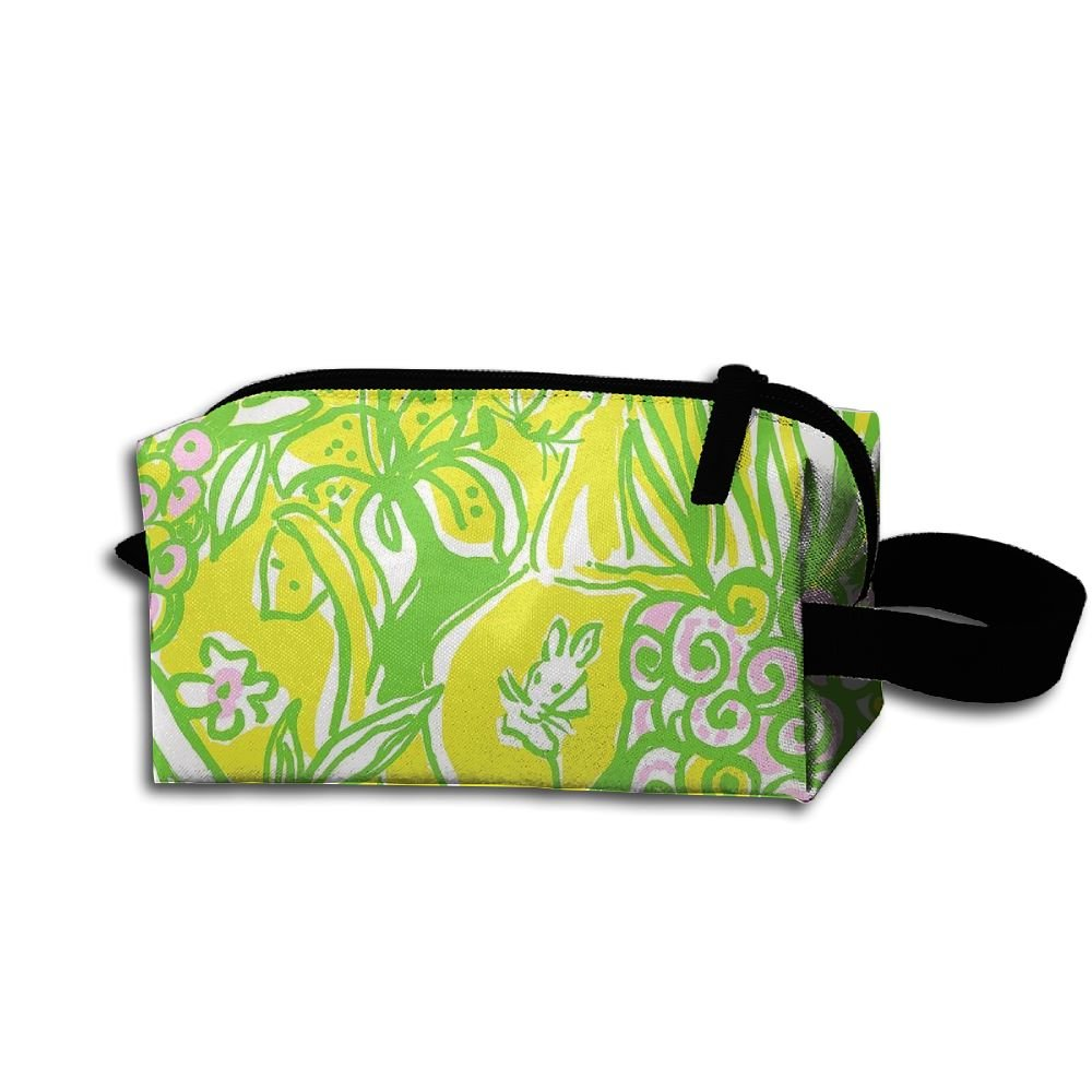 Makeup Cosmetic Bag Animal In Paint Medicine Bag Zip Travel Portable Storage Pouch For Mens Womens