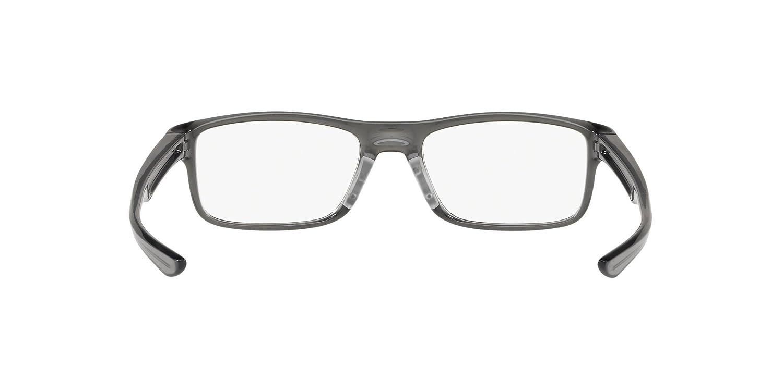 feb918d8b2 OAKLEY 0OX8081 - 808106 Eyeglasses POLISHED GREY SMOKE 51mm at Amazon  Women s Clothing store