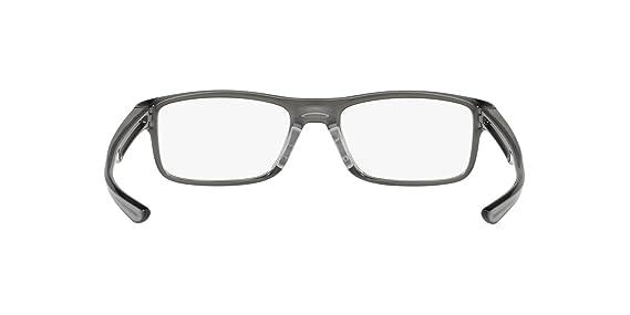 964adcb399 OAKLEY 0OX8081 - 808106 Eyeglasses POLISHED GREY SMOKE 51mm at Amazon  Women s Clothing store
