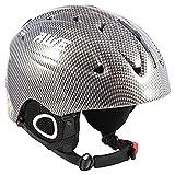 AWE® Ski Snowboarding Freeride In-Mould Helmet 58-60cm CE EN 1077 Standards, TUV Tested