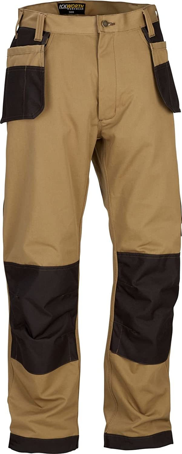 Mens Heavy Duty Work Trousers Multi Pocket Trade Extreme Pro Pants Triple Stitched Workwear Adults FREE DELIVERY
